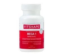 FITSHAPE Mega 1 vitaminen/mineralen (180tab)