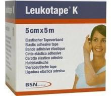 LEUKOTAPE Leukotape K 5 m X 5.0 cm huidkleur (1st)