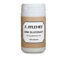 SUPPLEMED zink gluconaat 15mg (100tab)