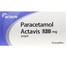 AUROBINDO Paracetamol 120 mg (10zp)