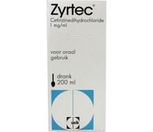 ZYRTEC Zyrtec drank 1mg/mg (200ml)