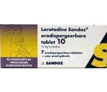 SANDOZ Loratadine 10mg oro (7tab)