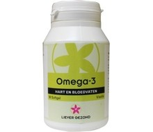 LIEVER GEZOND Omega 3 (60sft)