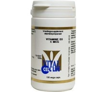VITAL CELL LIFE Vitamine D3 5 mcg (100cap)