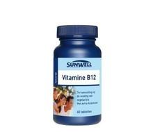 SUNWELL Vitamine B12 25mcg (60st)