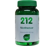 AOV 212 Nicotinezuur (90cap)