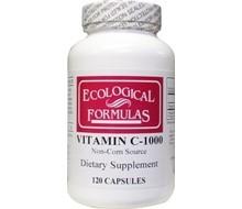 ECOLOGICAL FORM Vitamine C 1000 mg ecologische formule (120cap)