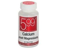 5.99 Calcium met Magnesium (60tab)