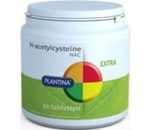 PLANTINA N Acetylcysteiine NAC (60tab)