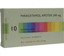 APOTEX Paracetamol 240 mg (10zp)