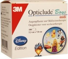 OPTICLUDE Oogpleister midi boys (100st)