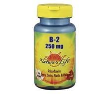 NATURES LIFE Vitamine B2 250 mg (50tab)