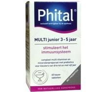 PHITAL Multi kauwtablet voorheen junior 2-5 jaar (60tab)