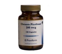 PROVIFORM Chroom picolinaat 200mcg (100cap)