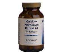 PROVIFORM Calcium magnesium citraat 2:1 (100tab)