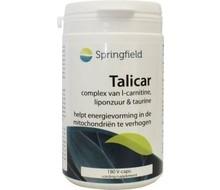 SPRINGFIELD Talicar I carnitine/taurine/liponzuur (180vc)
