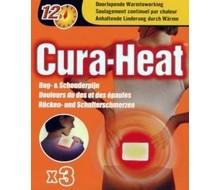 CURA HEAT Warmtepack rug- en schouder (3st)
