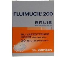 FLUIMUCIL Fluimucil 200mg suikervrij (20brt)