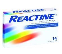 REACTINE Anti histaminicum 10 mg (14tab)