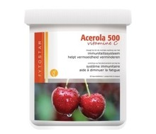 FYTOSTAR Acerola vitamine C500 kauwtablet (60tab)