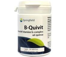 SPRINGFIELD B-quivit B complex (30tab)