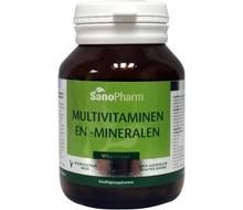 SANOPHARM Multivitaminen/mineralen wholefood (30cap)