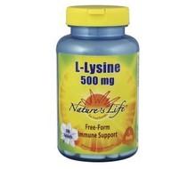 NATURES LIFE L-Lysine 500mg (100tab)