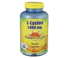 NATURES LIFE L-Lysine 1000mg (100tab)