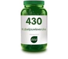 AOV 430 Kabeljauwleverolie (120cap)