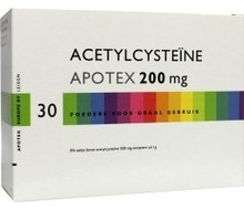 APOTEX Acetycysteine 200mg (30sach)