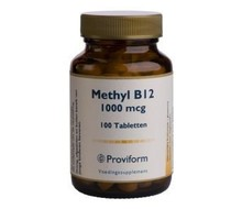 PROVIFORM Methyl B-12 1000mcg (100tab)