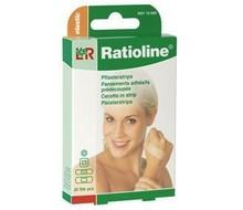 RATIOLINE Pleisterstrips elastisch (20st)