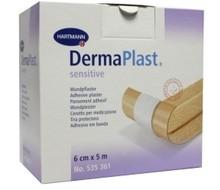 DERMAPLAST Sensitive wondpleister 5m x 6cm (5mx6cm)