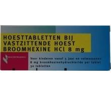 HEALTHYPHARM Broomhexine hoest 8mg (30tab)