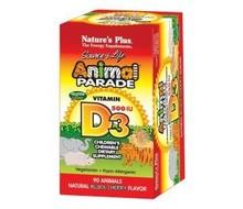 NATURES PLUS Animal parade vitamine D3 kauwtablet (90tabs)