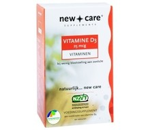 NEW CARE Vitamine D3 25 mcg (100cap)