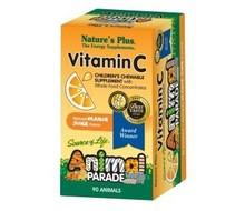 NATURES PLUS Animal parade vitamine C (90tab)