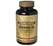 ARTELLE Vitamine D3 15 mcg (250cap)