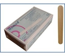 ROMED Tongspatel hout 150 x 18 mm (100)