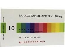 APOTEX Paracetamol 120 mg (10zp)