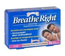 BREATHE RIGHT Neusstrips tanned large (30st)