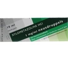 LEIDAPHARM Xylometazoline HCI 0.1% druppels (10ml)