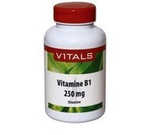 VITALS Vitamine B1 thiamine 250 mg (100cap)