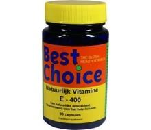 BEST CHOICE Natuurlijke Vitamine E (90cap)