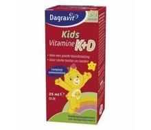 DAGRAVIT Vitamine K+D druppels (25ml)