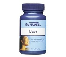 SUNWELL IJzer 14 mg (60st)