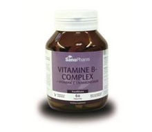 SANOPHARM Vitamine B complex & C & magnesium (60tab)