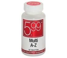 5.99 Multi A-Z 100% ADH (58tab)