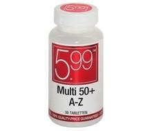 5.99 Multi A-Z 50+ (38tab)