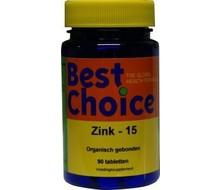 BEST CHOICE Zink 15 (90tab)